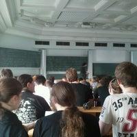 Photo taken at Physikalisches Institut, Hörsaal 1 by Timur Ç. on 4/16/2013