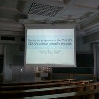 Photo taken at Physikalisches Institut, Hörsaal 1 by Timur Ç. on 4/19/2013