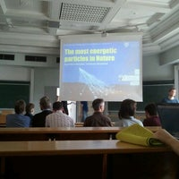 Photo taken at Physikalisches Institut, Hörsaal 1 by Timur Ç. on 6/14/2013