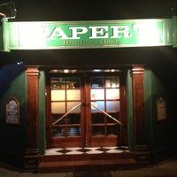 Photo taken at Paper's Bar by Nicolas M. on 3/17/2013