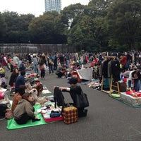 Photo taken at Shinjuku Chuo Park by Shu on 10/27/2012