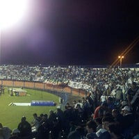 Photo taken at Estádio Aderbal Ramos da Silva (Ressacada) by Leandro B. on 10/10/2013