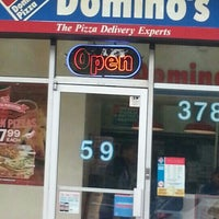 Photo taken at Domino's Pizza by Johane B. on 9/20/2012