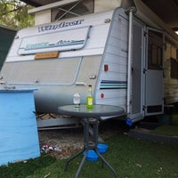 Photo taken at Boomerang Way Caravan Park by Danielle on 12/8/2012
