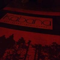 Photo taken at Restaurant Bar Kabana by Drea M. on 9/22/2012