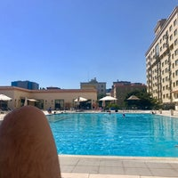 Photo taken at Oasis Hyatt Pool by Гарик🐻 А. on 8/12/2017