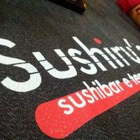 Photo taken at Sushiru's by Edu A. on 1/10/2013