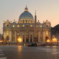 Photo taken at Saint Peter's Square by Ekaterina U. on 7/17/2013