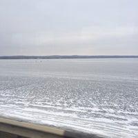 Photo taken at Салтовское Водохранилище by 🌟Slava on 1/17/2014