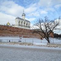 Das Foto wurde bei Novgorod Kremlin von Kirill A. am 2/16/2013 aufgenommen