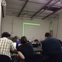 Photo taken at Hacker Dojo by Aleksandr P. on 4/17/2014
