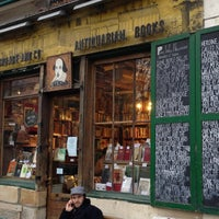 Photo taken at Shakespeare & Company by Susan L. on 12/9/2012