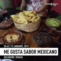 Photo taken at Me Gusta Sabor Mexicano by Anderson L. on 1/13/2013
