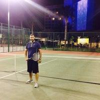 Photo taken at Arif Koçak Tenis Akademi by Emir T. on 5/8/2015