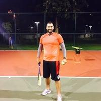 Photo taken at Arif Koçak Tenis Akademi by Emir T. on 12/9/2015