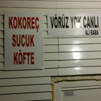 Photo taken at Ali Baba kokoreç by Emre Ş. on 7/2/2014