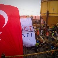 Photo taken at 3rd Bosphorus Bridge South Tower by Neslihan Uzun on 11/16/2014