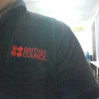Photo taken at British Council by Aaron O. on 9/21/2012