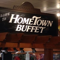 Photo taken at HomeTown Buffet by Shane A. S. on 3/14/2014