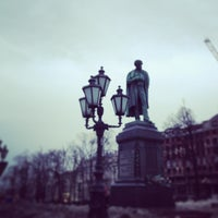 Photo taken at Памятник А. С. Пушкину by Настасья on 4/5/2013