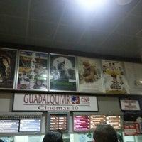 Photo taken at Cines Guadalquivir by Jose .. on 10/12/2012