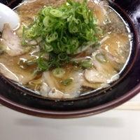 Photo taken at 第一旭 熊野店 by Tatsuya N. on 1/12/2013