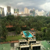 Photo taken at The Sultan Hotel & Residence Jakarta by Adie M. on 3/10/2015