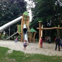 Photo taken at Brilschanspark by Joeri G. on 8/9/2013