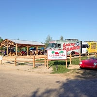 Photo taken at Clearfork Food Park by Rachel M. on 4/28/2013
