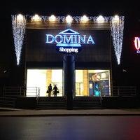 Photo taken at Domina Shopping by Edvards K. on 11/25/2012