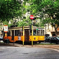 Photo taken at Corso Sempione by Tram M. on 5/31/2013