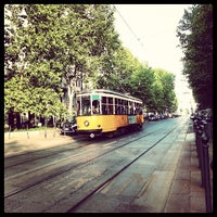 Photo taken at Corso Sempione by Tram M. on 6/29/2013