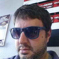 Photo taken at Sport Clips by Metin K. on 10/27/2012