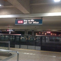 Photo taken at Ang Mo Kio MRT Station (NS16) by Goen_A O. on 5/5/2013
