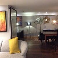 Photo taken at Radisson Blu Royal Garden Hotel by Robert H. on 12/26/2013