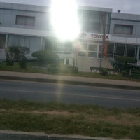 Photo taken at Toyota Ghana Ltd. by Charlie P. on 7/1/2013