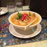 Photo taken at Gourmet Malaysia 膳園 by Erika W. on 1/17/2013