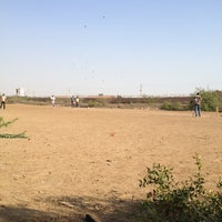 Photo taken at central govt housing society cricket ground by Muhammad F. on 2/9/2014