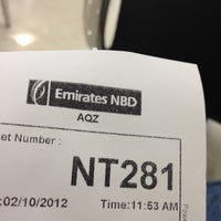 Photo taken at Emirates NBD by Mohamed A. on 10/2/2012