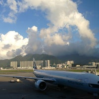 Photo taken at Hong Kong International Airport (HKG) by Tobias S. on 7/1/2013