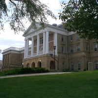 Photo taken at Bascom Hill by HISTORY on 11/30/2012