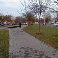 Photo taken at Сквер Совета Европы by Oleg D. on 1/3/2013