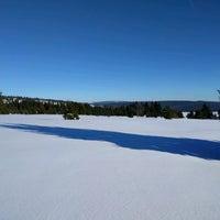 Photo taken at Ski areál Abertamy by Adam Ř. on 1/22/2017