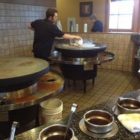 Photo taken at Mongolian BBQ by Ashley C. on 4/28/2013