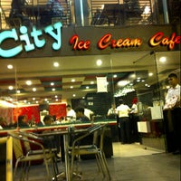 Photo taken at City Ice Cream Cafe by Toci A. on 11/19/2012