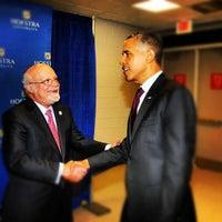 Photo taken at David S. Mack Student Center by Tatiana G. on 10/17/2012