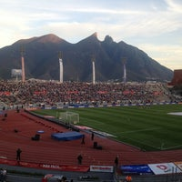 Photo taken at Estadio Tecnológico by Javi G. on 1/27/2013