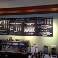 Photo taken at Greenberry's Coffee & Tea by Kavian M. on 3/22/2013