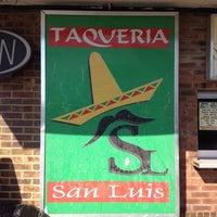 Photo taken at San Luis Taqueria by Kyle C. on 4/20/2014