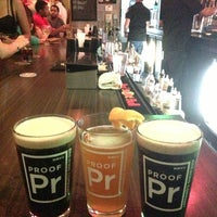 Photo taken at Proof Brewing Company by Chris on 7/11/2013